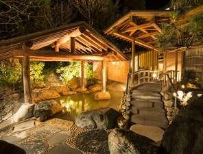 ホテル 木暮:「千楽」庭園露天風呂