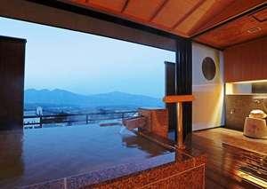 ホテル 木暮:貸切展望風呂「癒しの湯」源泉かけ流し 1時間2,500円税別