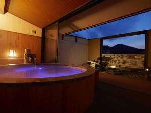 ホテル 木暮:山水亭 客室露天風呂の一例