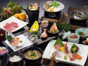 ホテル 木暮:お料理の一例(平成29年秋冬)