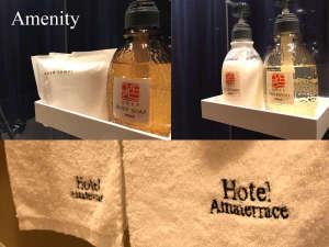 Hotel Amaterrace日本橋東:【アメニティ/PORA/香りが女性に人気です!】