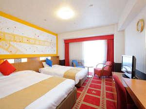 ホテル京阪 ユニバーサル・シティ:*(2名様)コンフォートツイン『ザ・ムービー』 27㎡   星いっぱいのお部屋で夢の続きを★ミ