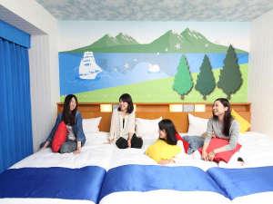 ホテル京阪 ユニバーサル・シティ:◇(3~4名)コンフォートトリプル/フォース《レイク》27㎡ グループやファミリーにおすすめ★