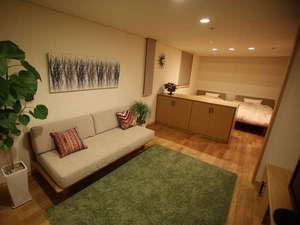 Casa del viento:広々としたバス・トイレ付き洋室