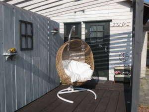 Casa del viento:座り心地満点のゆりかご