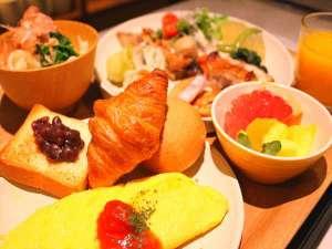 西鉄ホテル クルーム名古屋(2019年1月30日オープン):【朝食】目の前でシェフが調理するライブコーナーも設置<一例>