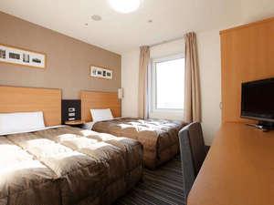 コンフォートホテル新潟駅前:◆ツインエコノミー◆123cm幅ベッド×2台◆