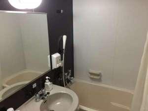 【客室風呂】ツインタイプ バスタイプは縦約105センチ横65センチです