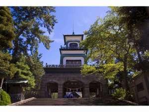 【周辺観光】「尾山神社」江戸時代後期から明治時代初期に流行した藩祖を祀った神社のひとつ