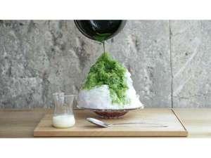 【KISSA&Co.】】季節限定!「かき氷 抹茶練乳」毎年大人気の商品です