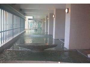 HOTEL RIVIERA ししくい:お肌がツルツル!広ーい大浴場です