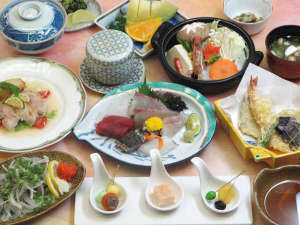 HOTEL RIVIERA ししくい:*【リゾートコース:カジュアル】お手軽二食付プラン★新鮮海の幸をご賞味ください♪