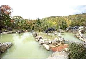 旬の宿 ニセコグランドホテル:混浴大露天風呂6