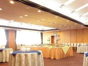 くもづホテル&コンファレンス:会議後のフォーマルな懇親会や、ちょっとした集まりでのカジュアルな懇親会としてもご活用ください。