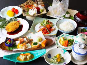 王地山公園 ささやま荘:丹波篠山の味覚が楽しめる会席料理★