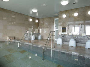 ホテルみゆきビーチ:【別館】展望風呂(全体):2011年4月リニューアルOPEN!洗い場は5つですが眺望は抜群です!
