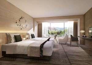 グランドプリンスホテル京都:プレミアフロア・ツインルーム