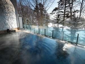 札幌北広島クラッセホテル:雪景色を眺めながらゆっくり湯浴みを