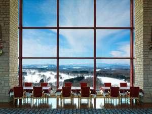 札幌北広島クラッセホテル:四季折々の景色を愉しめる最上階レストラン