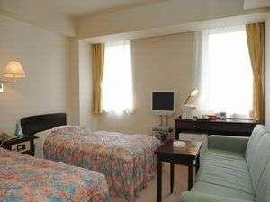 ホテル 翔 SAPPORO:広めのツインルーム