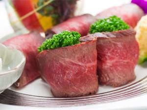 プラザホテル山麓荘:地元の特産和牛を美味しくアレンジ♪