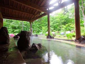 プラザホテル山麓荘:大自然に囲まれた癒しの露天風呂で湯ったり♪
