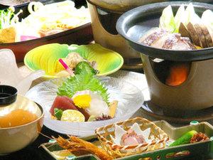 こんぴら温泉とら丸旅館:*瀬戸内の味覚満喫!和食会席(料理一例)