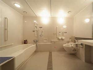 国際障害者交流センター(ビッグ・アイ):浴室