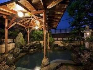 おごと温泉 琵琶湖グランドホテル・京近江:【大浴場】露天風呂しゃくなげの湯(男性)