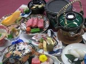 琵琶湖グランドホテル石焼ステーキ会席