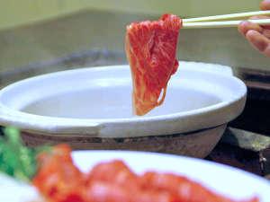 水神温泉 湯元東館:*夕食(一例)/標準でも4等級!北上から全国ブランドへ「いわてきたかみ牛」