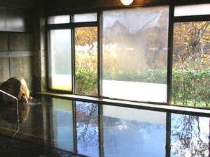 水神温泉 湯元東館:*お風呂/天然温泉をかけ流しでいつでも入浴可能!