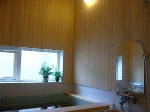 旅の宿うぶかた:あたたまる ヒノキのお風呂 24時間利用可