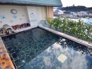 国際観光ホテル旗松亭:浪漫亭の展望露天風呂