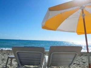 国際観光ホテル旗松亭:ビーチで夏を満喫♪(イメージ)