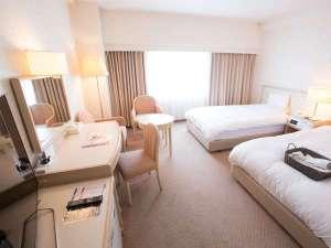 富山地鉄ホテル:ツインルーム(一例)