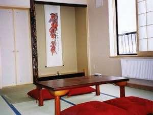 二股らぢうむ温泉旅館:客室の一例です。