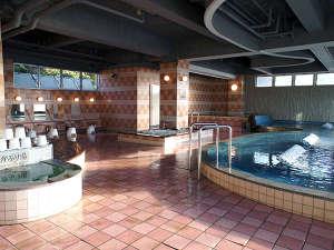 浜観ホテル:温泉大浴場