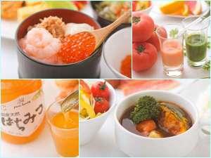 ホテルグレイスリー札幌:こだわりの朝食で元気をチャ-ジ♪