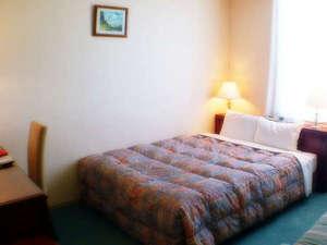 レガロホテル広島:ダブルベッドのシングルユースもOK♪