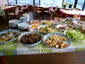 プラザホテルアベニュー:地元の食材を使った日替り手料理
