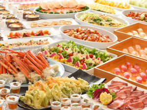 宮城蔵王ロイヤルホテル:ずわい蟹・寿司・牛タン・天ぷら等が食べ放題の和洋中バイキング♪食欲の秋!いっぱい食べよう♪/イメージ