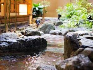 12の湯処をお愉しみ頂ける当宿。2種の源泉を存分にご堪能ください
