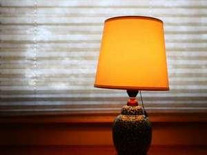 趣のあるランプ