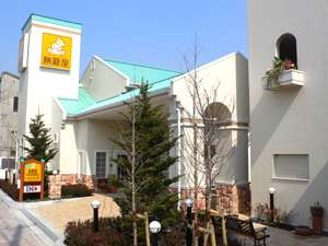 ファミリーロッジ旅籠屋・東京新木場店:外観 駐車場完備