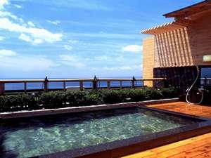 海薫る宿 ホテルニュー松実:朝・昼・夜と様々に表情を変える眺めが抜群の露天(public bath)