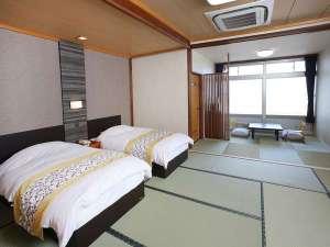 海薫る宿 ホテルニュー松実:和室(海側)畳+T/B(禁煙)
