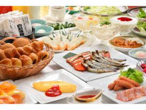 ホテル メルパルク仙台:朝食は、朝日の差し込むレストランフォレスタで。