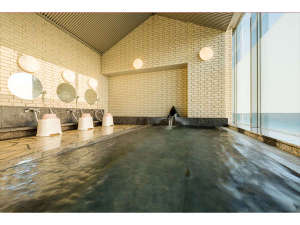 ホテル メルパルク仙台:11階には、景色が見える展望浴場。