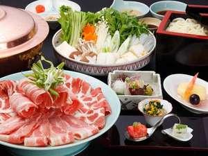和食【城山ガーデンズ 水簾】 薩摩料理、しゃぶしゃぶ等、旬の鹿児島の食材を存分に。